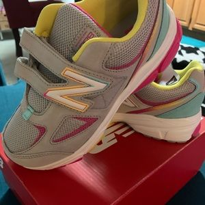 Little girls new balance sneakers
